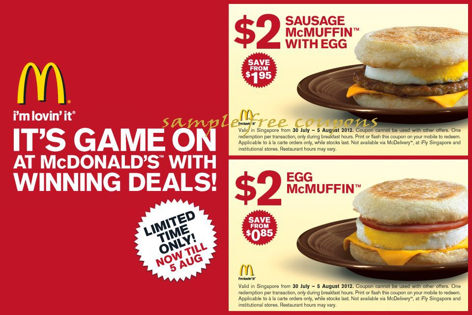 McDVoice Feedback Survey How To Get McDonalds Coupons Deals Offers Promo Codes